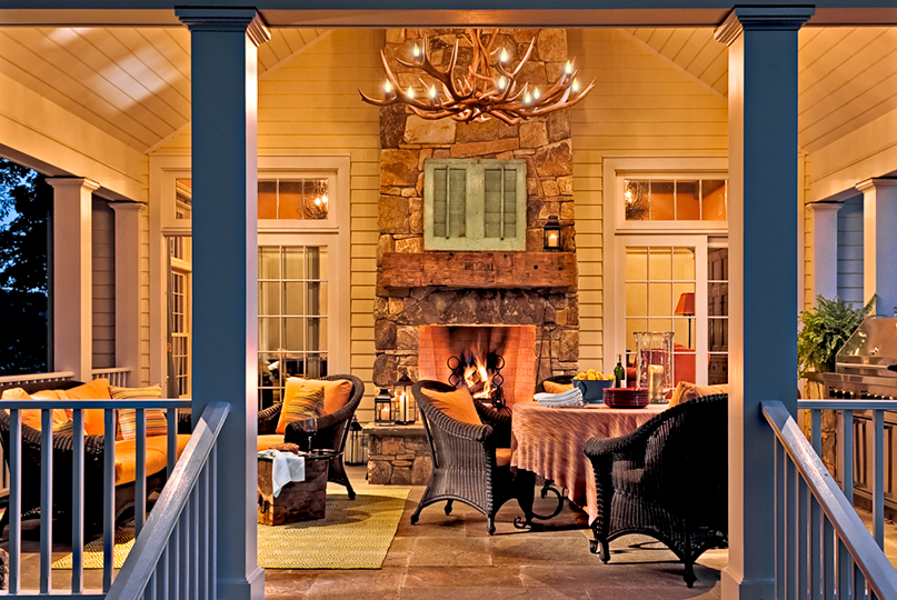 Best 7 Back Or Side Porches – On The Drawing Board This Month