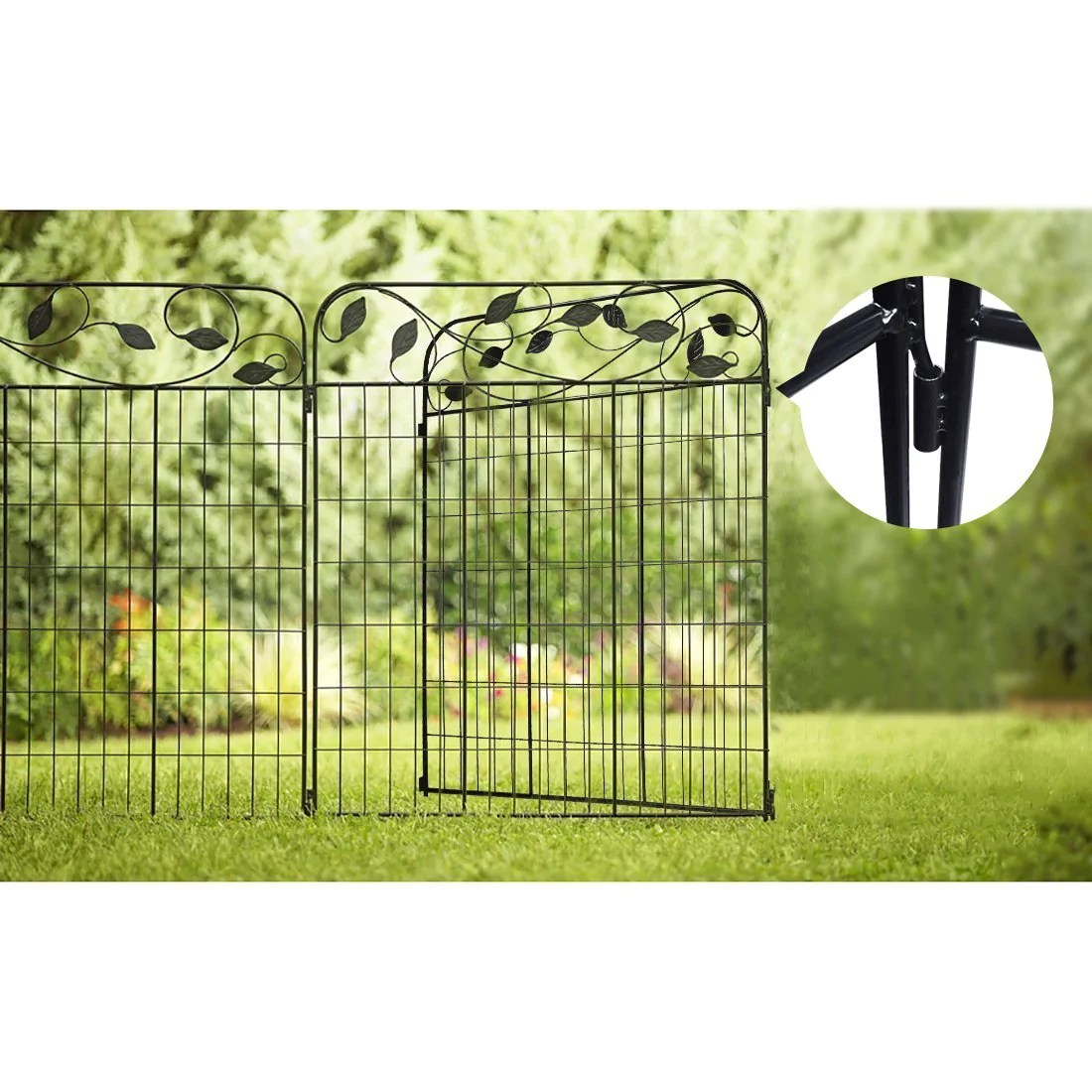 Best Buy Amagabeli Decorative Fence Gate Best Garden Fence This Month