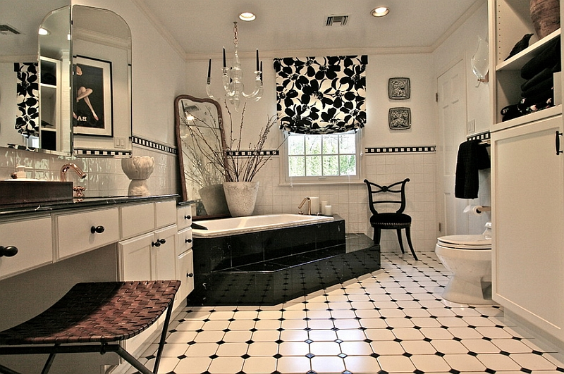Best Black And White Bathrooms Design Ideas Decor And Accessories This Month
