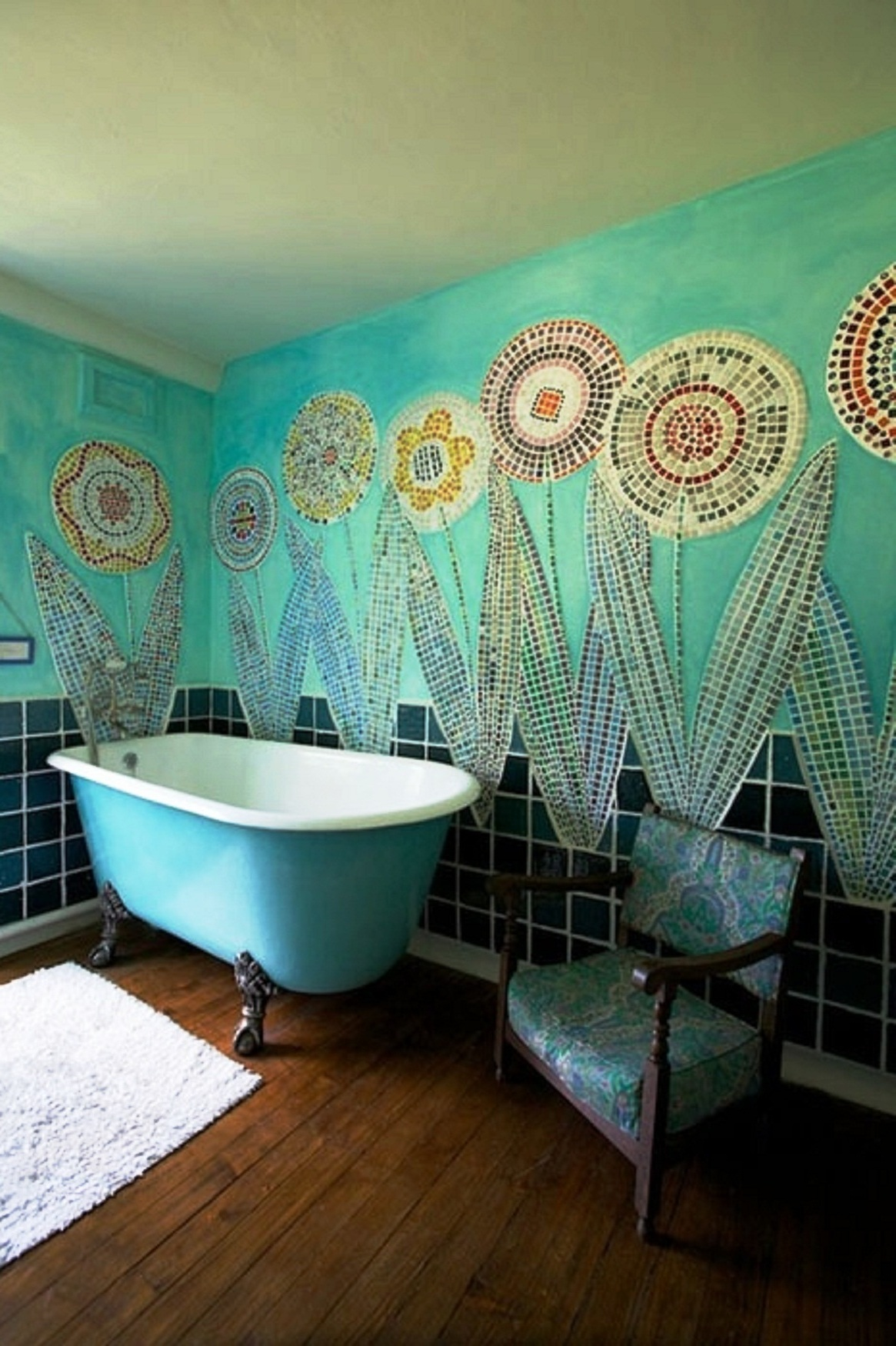 Best Turquoise Bathrooms Timeless And Captivating Interior This Month