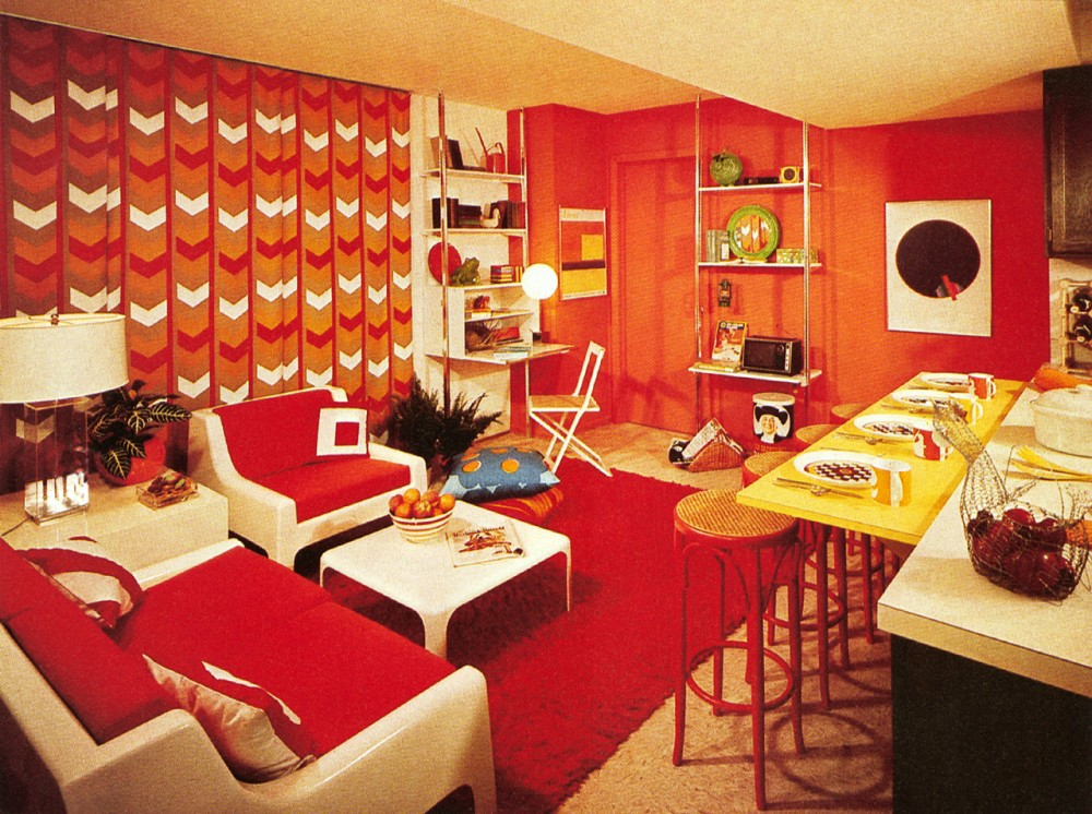 Best Interior Five Common 1970S Decor Elements Ultra Swank This Month