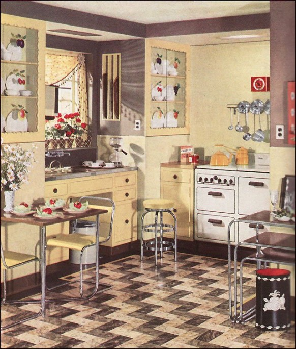 Best Retro Kitchen Design You Never Seen Before This Month