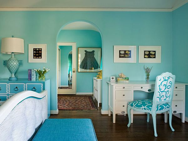 Best Turquoise Interior Design Inspiration Rooms This Month