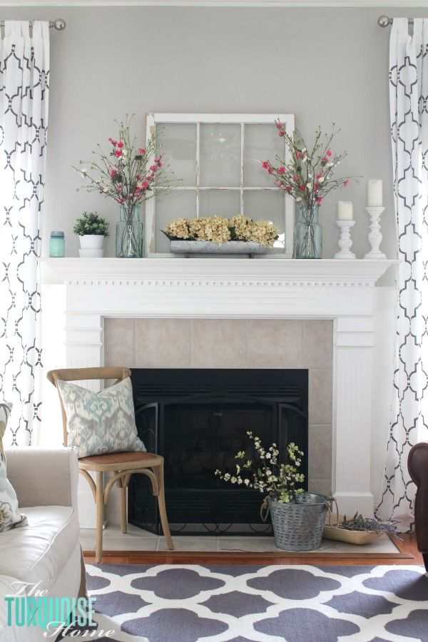 Best Decorating Your Mantelpiece For Spring This Month