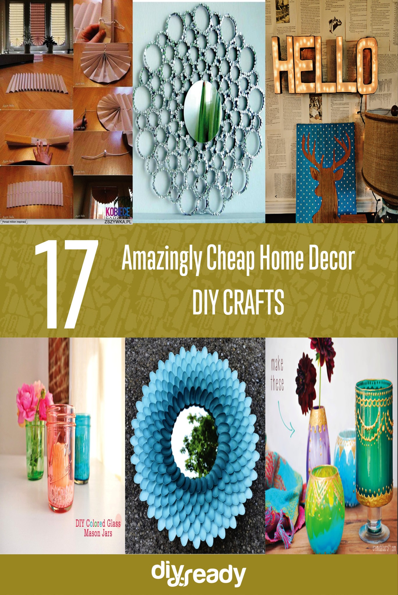 Best Amazingly Cheap Home Decor Diy Crafts This Month