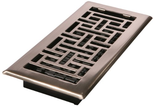 Best Decor Grates Ajh410 Nkl 4 Inch By 10 Inch Oriental Floor This Month