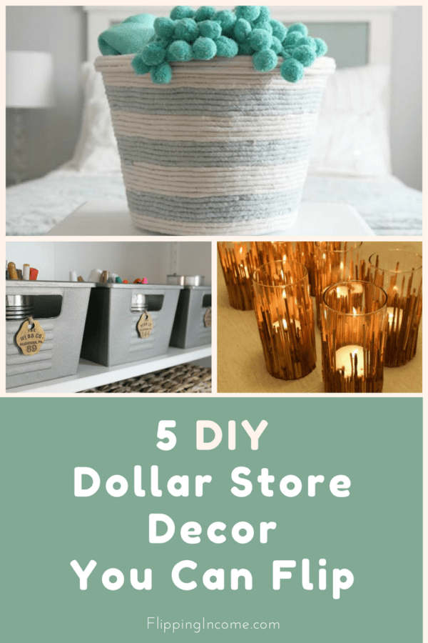 Best 5 Diy Dollar Store Decor You Can Flip Flippingincome Com This Month