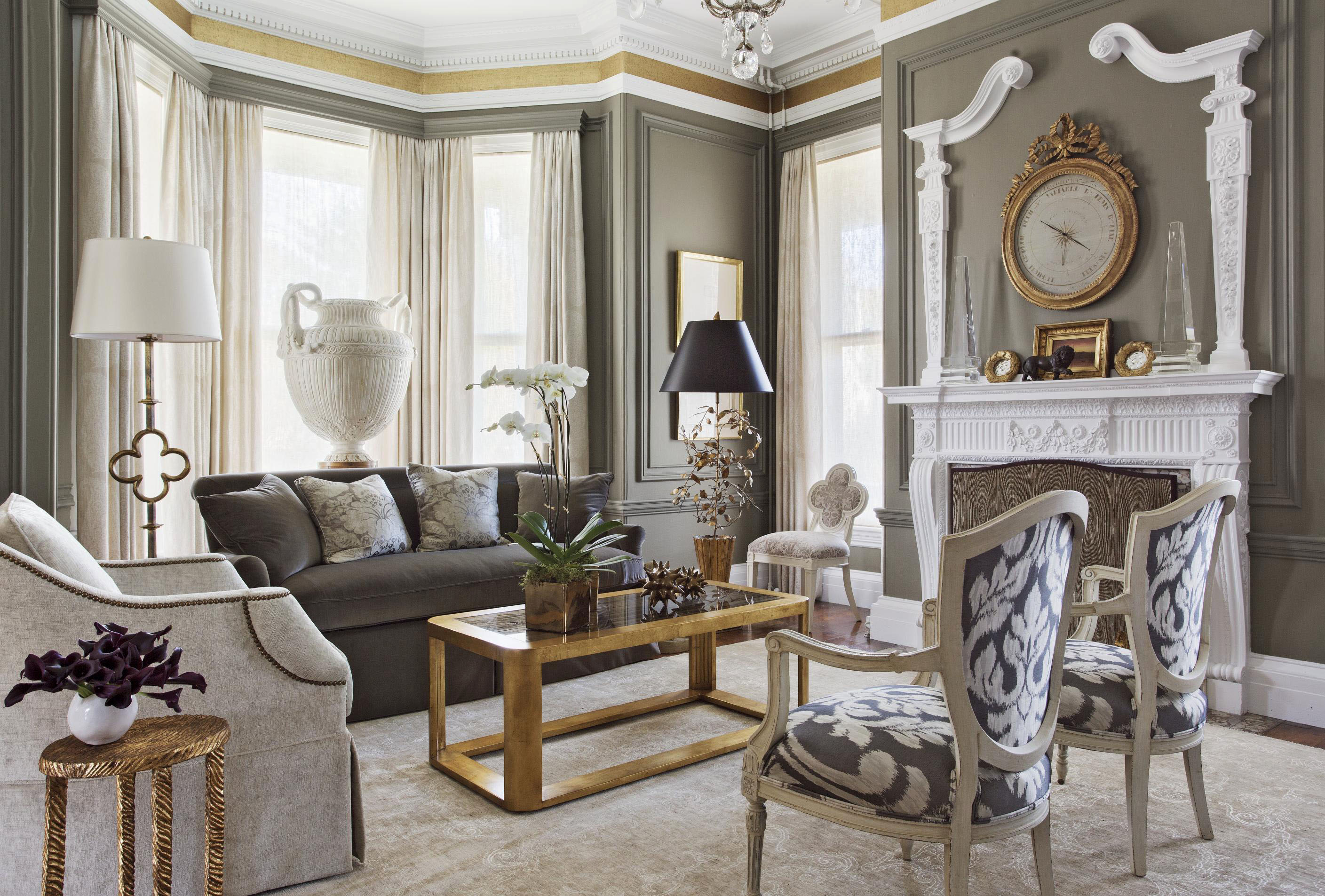 Best Get The Look Ornate Mantels Traditional Home This Month