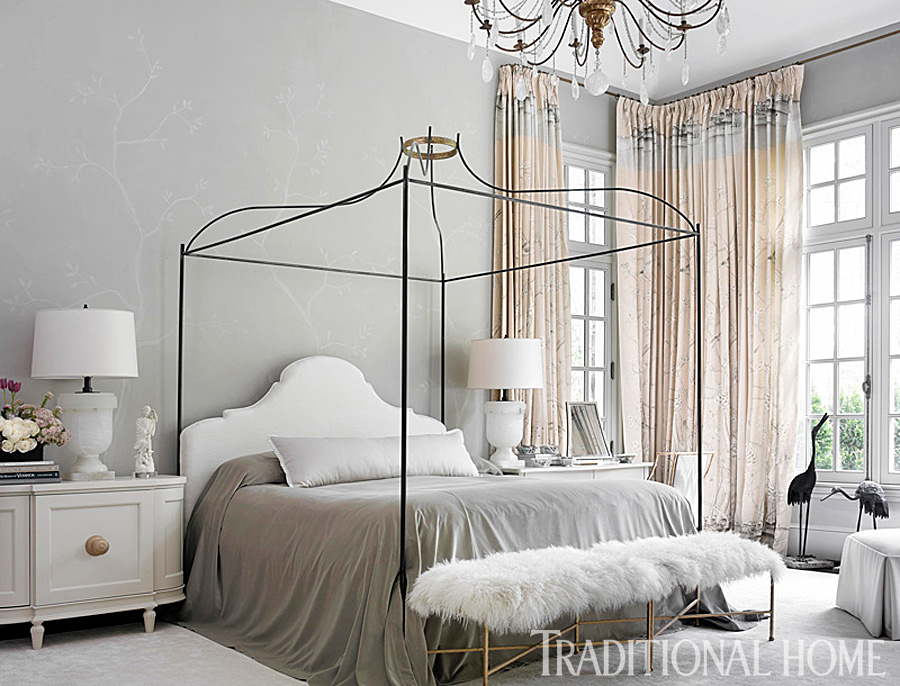 Best Gorgeous Gray And White Bedrooms Traditional Home This Month