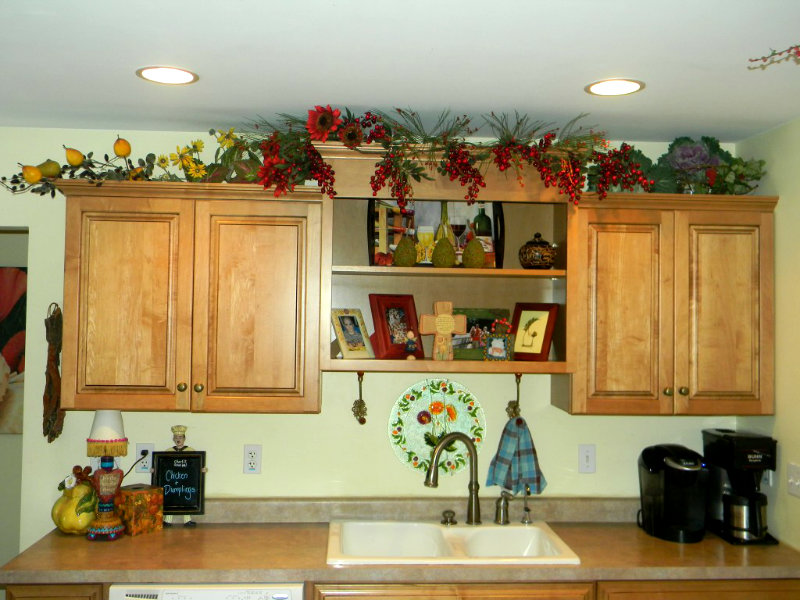 Best Decorating Above Kitchen Cabinets Before And After This Month
