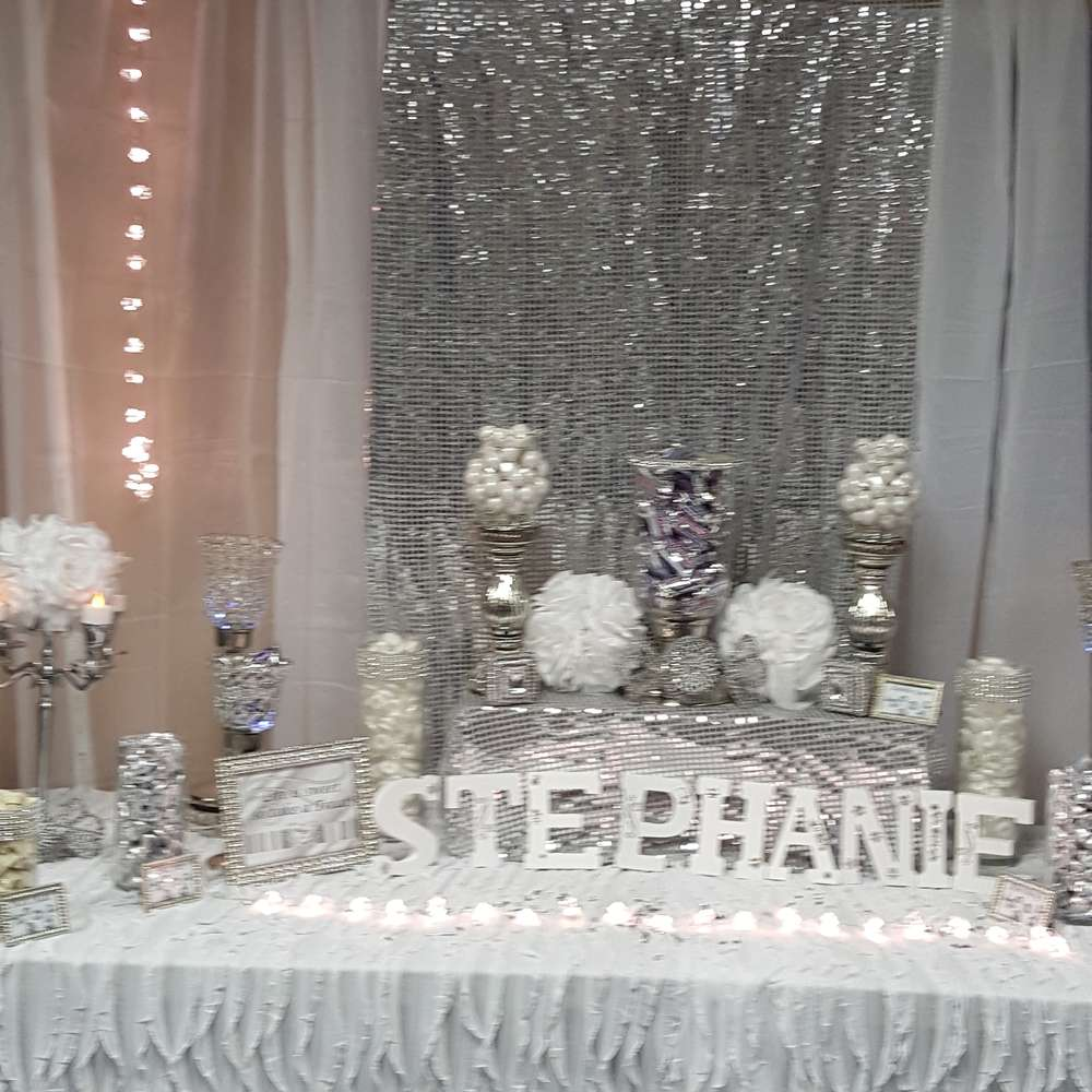 Best All White Party Birthday Party Ideas Photo 3 Of 9 This Month
