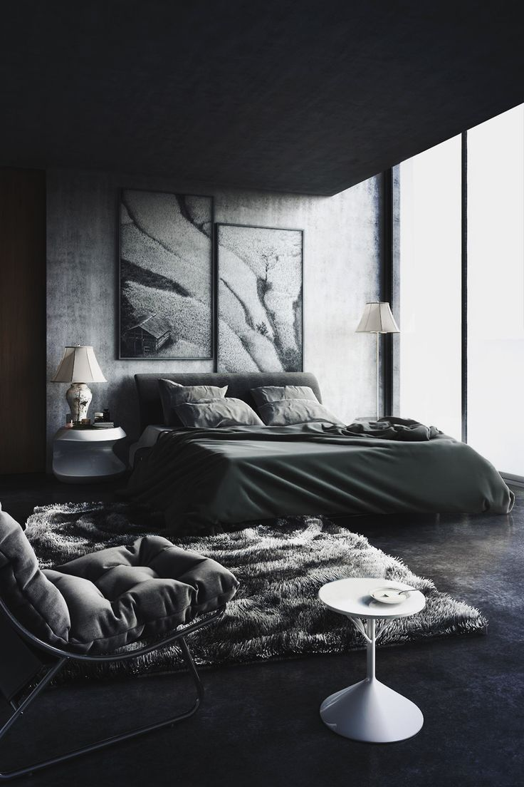 Best Back To Black Decorating With Dark Color Schemes This Month