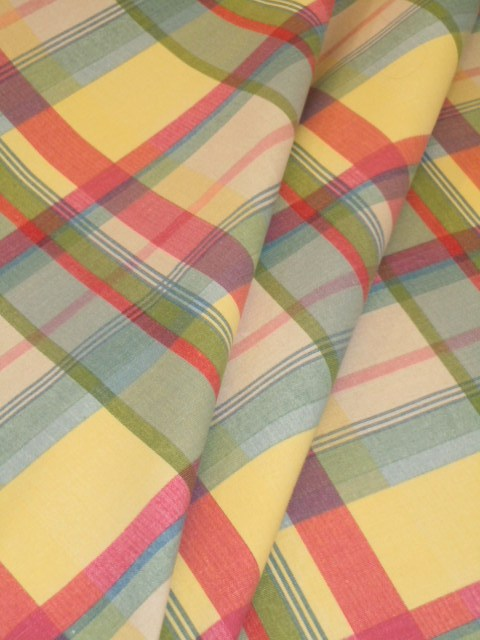Best Pattern Sundown Stripe Plaid Decorator Fabric This Month