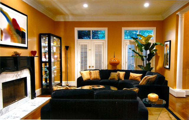 Best Living Room Black And Gold Tones This Month