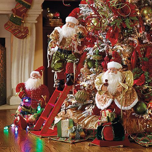 Best Set Of 3 Animated Decorating Elves Christmas Decorations This Month