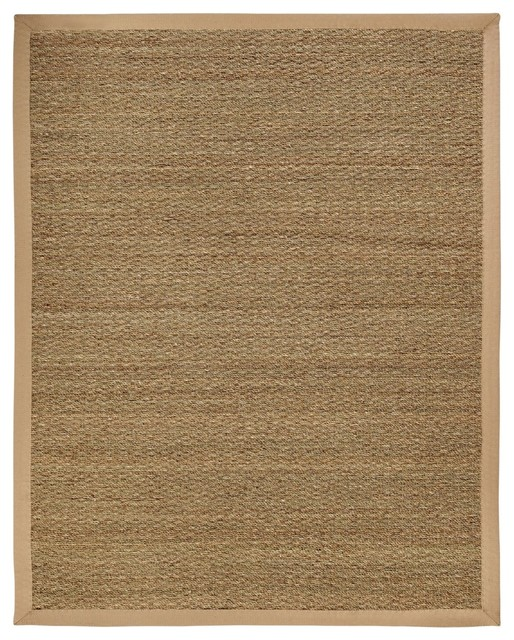 Best Natural Fiber Seagrass 9 X12 Rectangle Beige Area Rug This Month