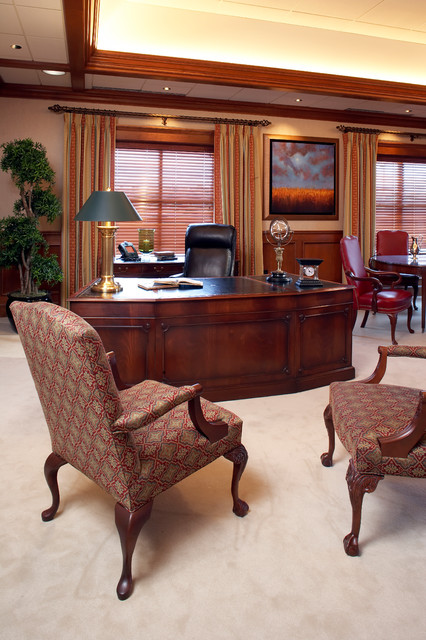 Best Executive Office Traditional Home Office Minneapolis This Month