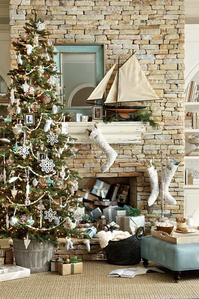 Best Coastal Christmas Inspiration Simple Stylings This Month
