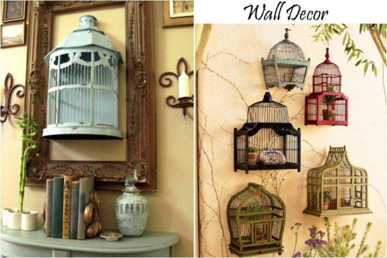 Best Give Your Home A Chic Decor By Reusing Your Old Bird Cage This Month