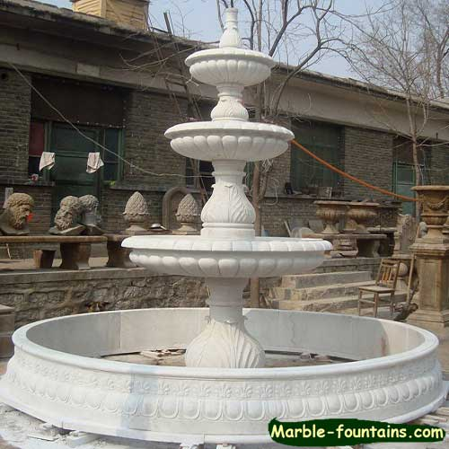 Best Garden Outdoor Decorative Marble Carved Water Fountains This Month