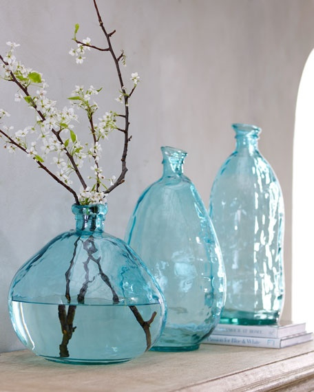 Best Teal Blue Glass Vase Accessories Home Decor Pinterest This Month