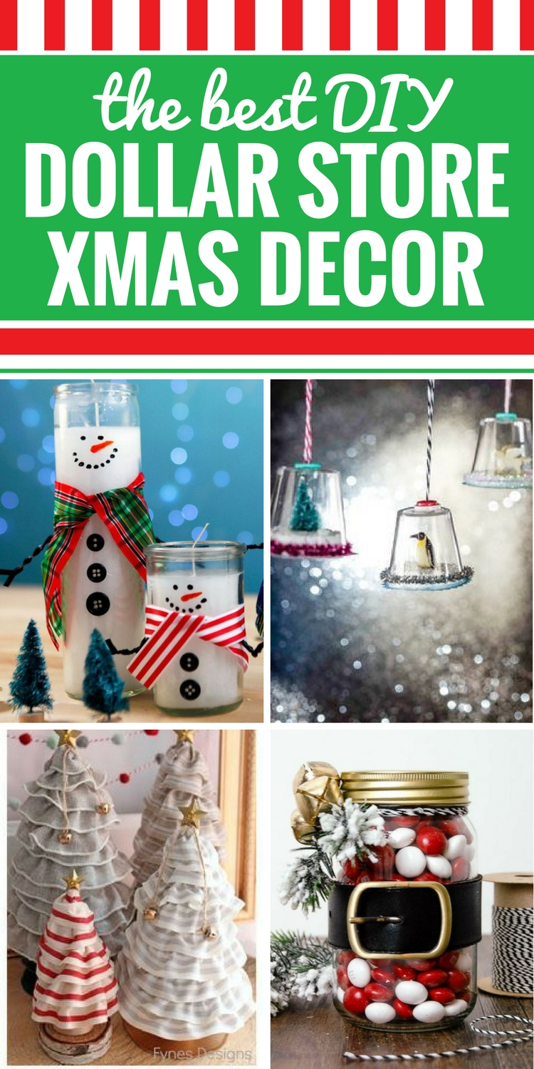 Best Diy Dollar Store Christmas Decor My Life And Kids This Month