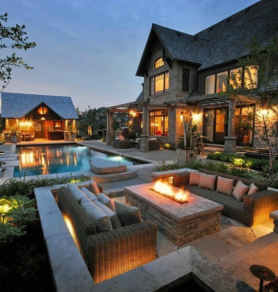 Best Top 60 Best Outdoor Patio Ideas Backyard Lounge Designs This Month