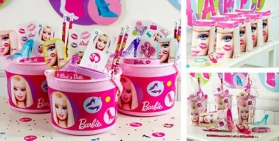 Best Barbie Party Favors Stickers Bracelets Stationery This Month