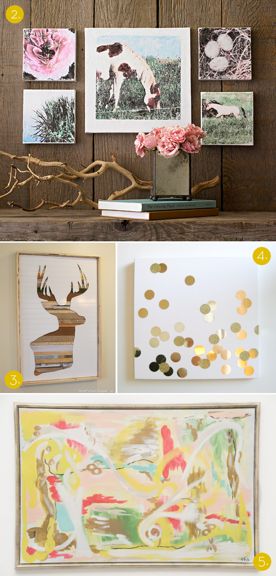 Best Roundup 10 Affordable Diy Modern Wall Art Projects This Month