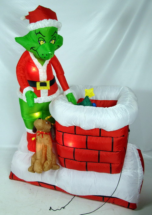 Best The Grinch 6 Ft Animated Airblown Outdoor Inflatable This Month