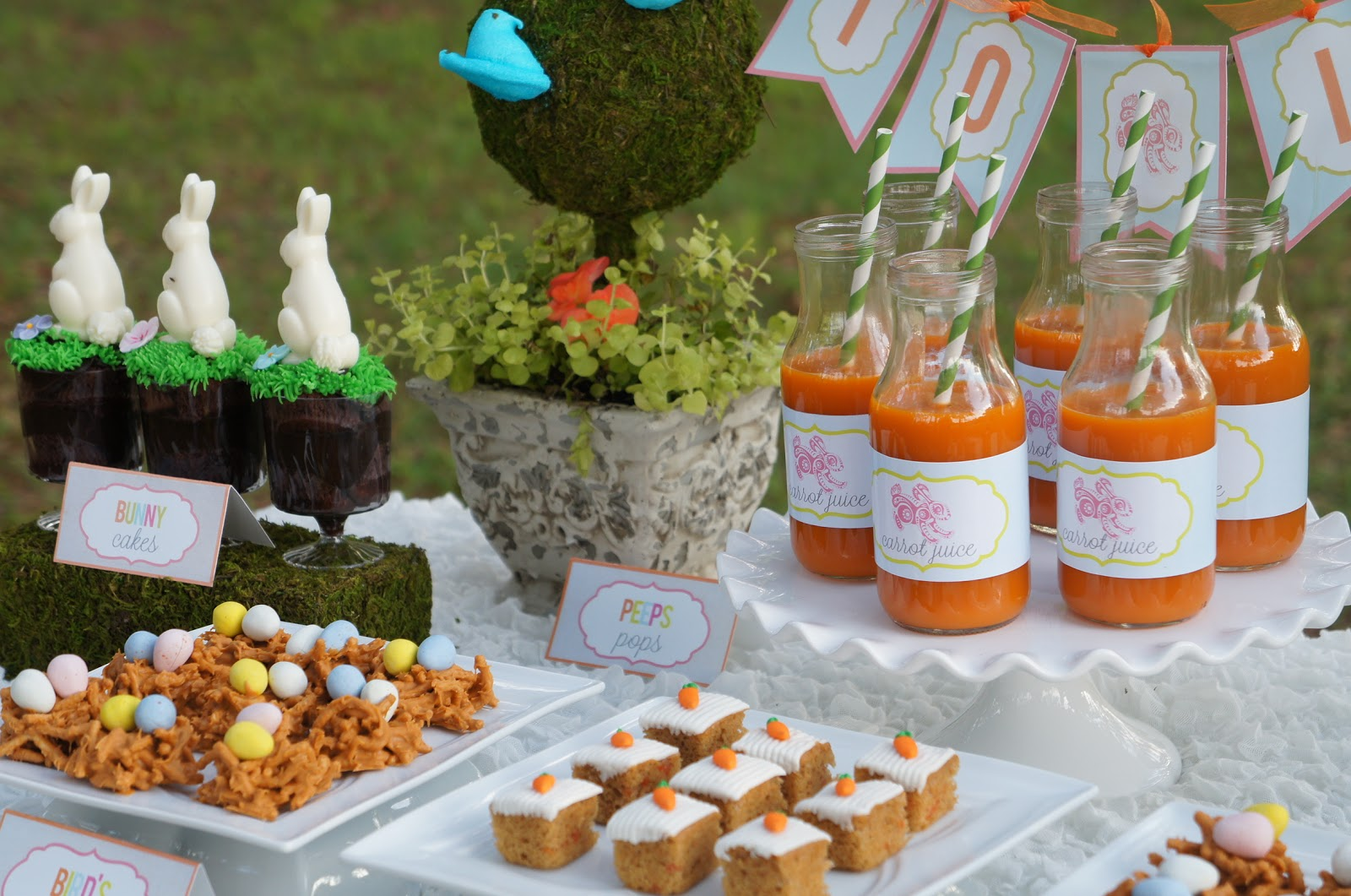 Best Hop On Over Easter Party Real Parties I Ve Styled Amy This Month