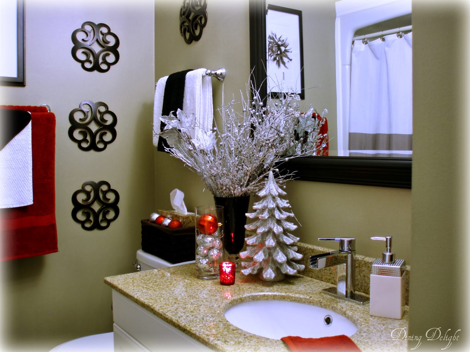 Best Dining Delight Christmas Home Tour 2013 This Month