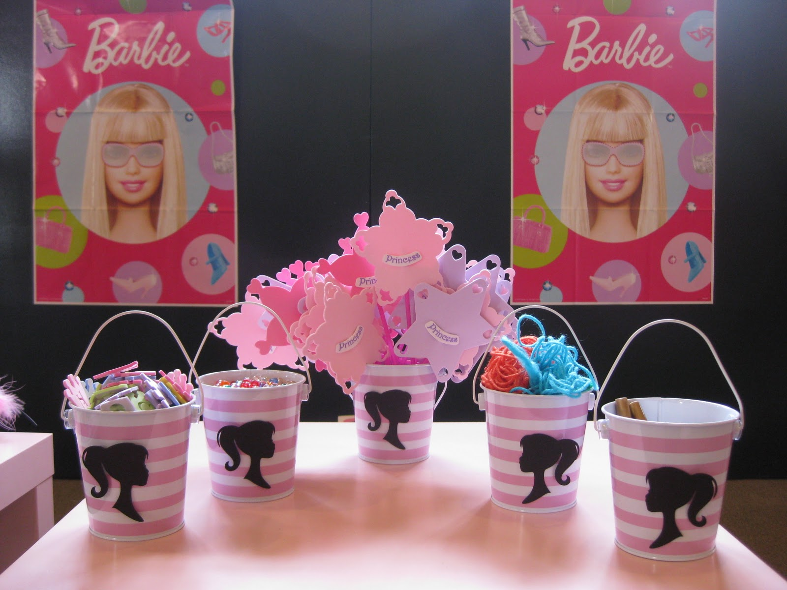 Best Swanky Chic Fete Pink Barbie Party A 5Th Birthday Party This Month