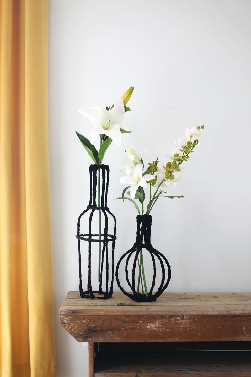 Best Decorative Wire Vase Diy – A Beautiful Mess This Month