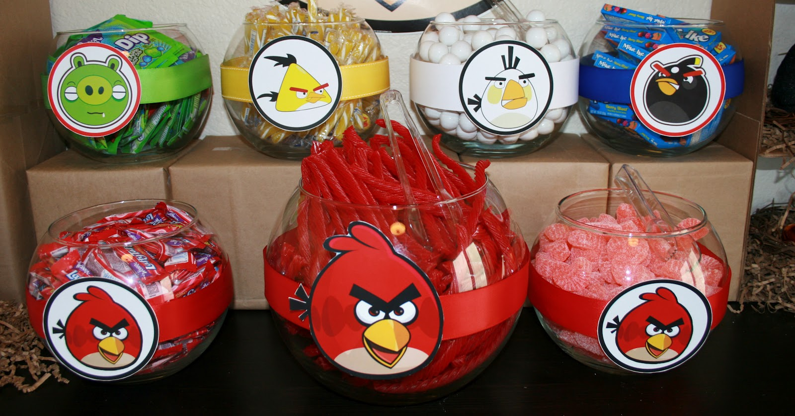 Best My Creative Ink Angry Bird Party Decorations This Month