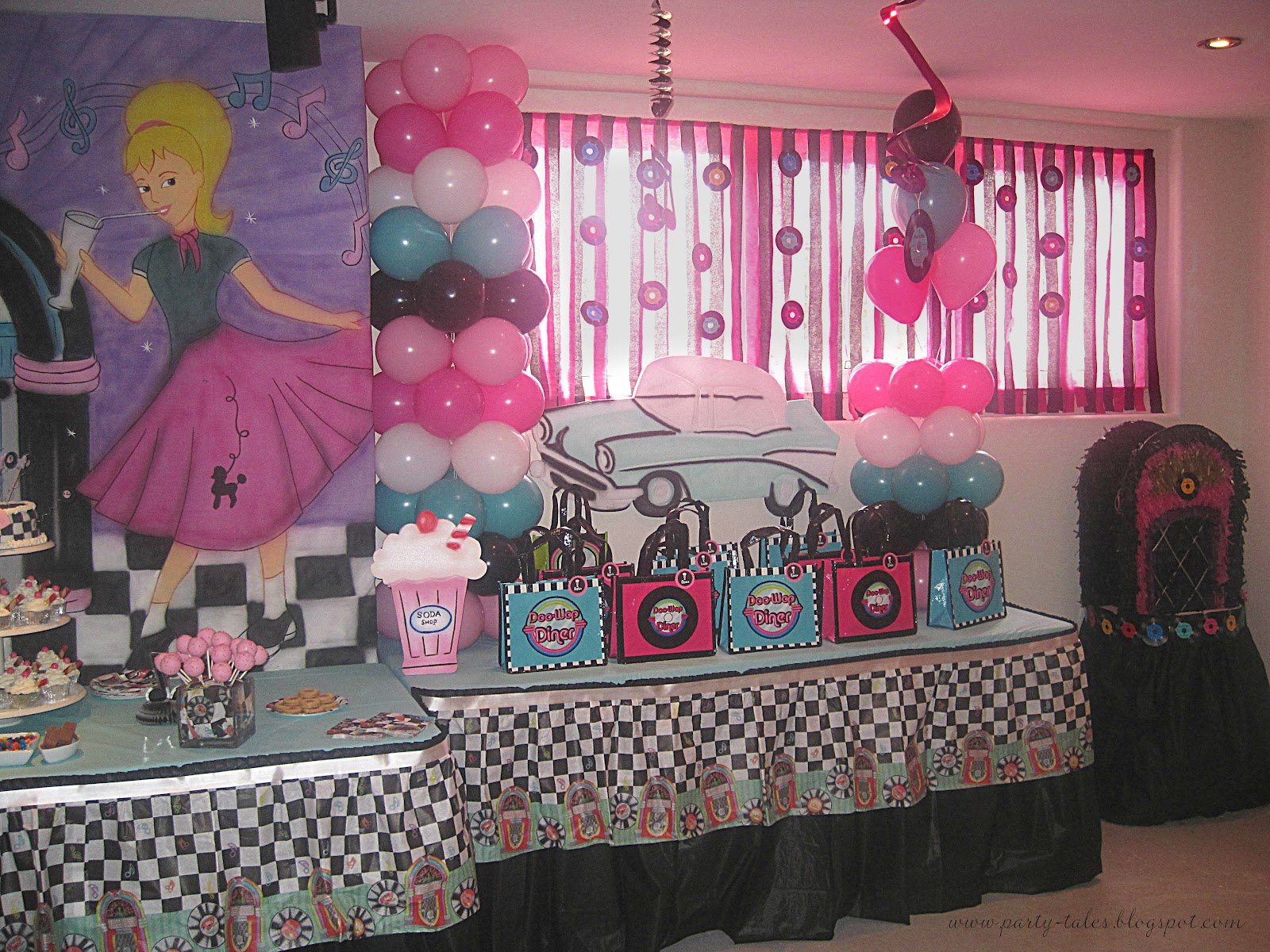 Best Party Tales Birthday Party 50 S Diner Sock Hop Party This Month
