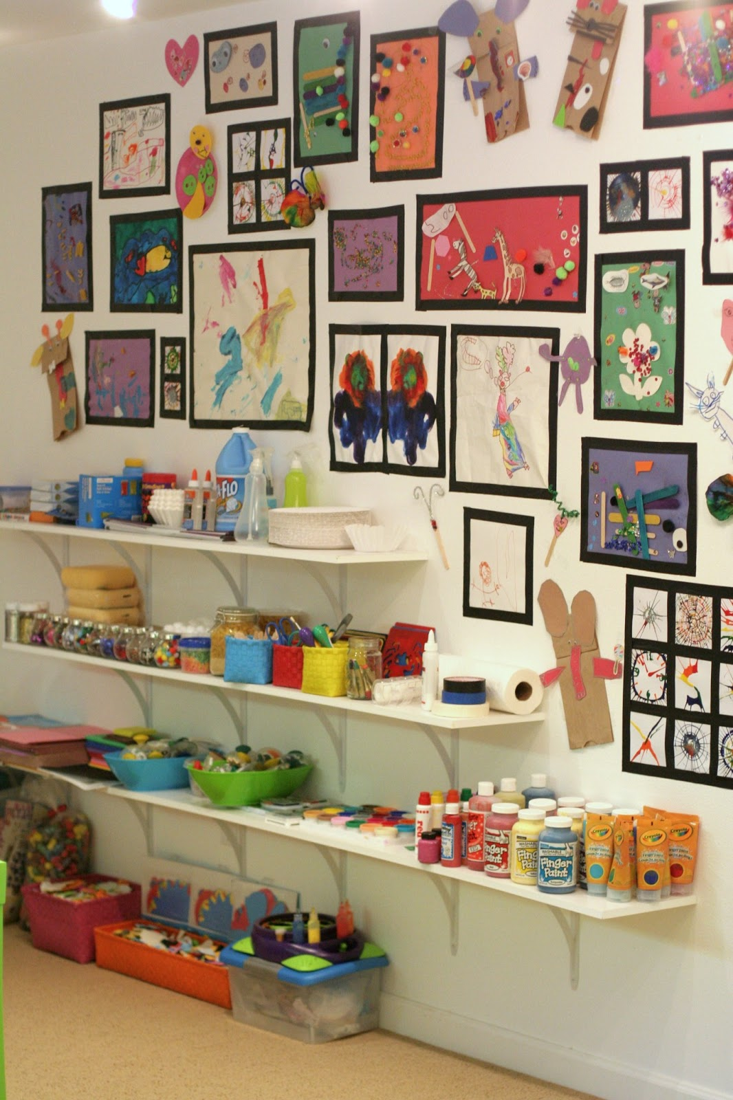 Best Playroom Design Our Art Room This Month