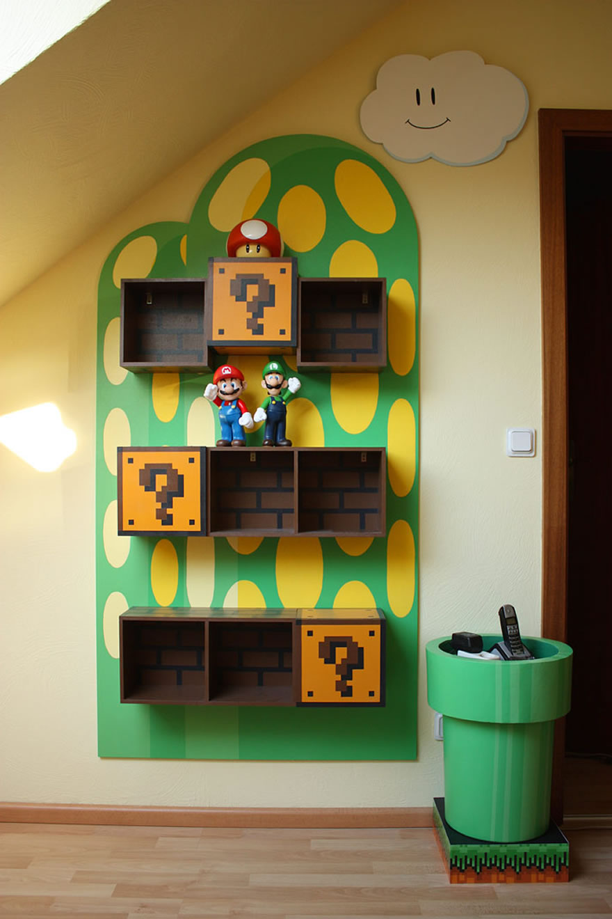 Best Kids Video Game Themed Rooms Design Dazzle This Month