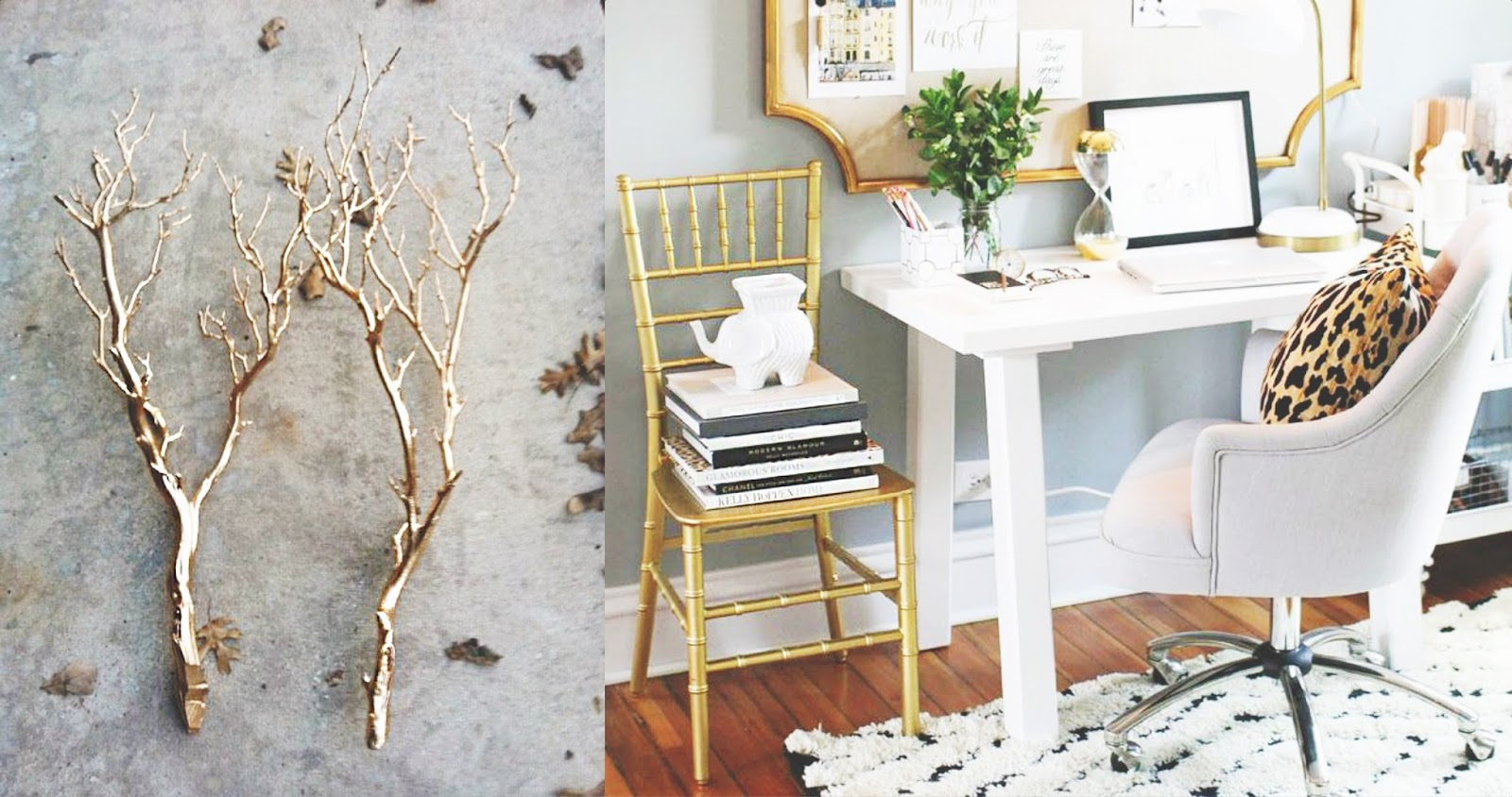 Best Now That S Chic Gold Accents Home Decor Fever This Month