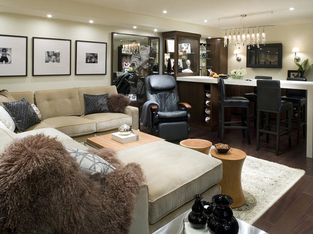 Best Modern Furniture Basements Decorating Ideas 2012 By This Month