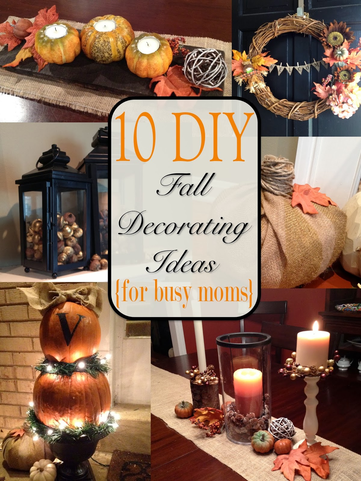 Best Two It Yourself Fall Home Tour 10 Diy Fall Decorating This Month