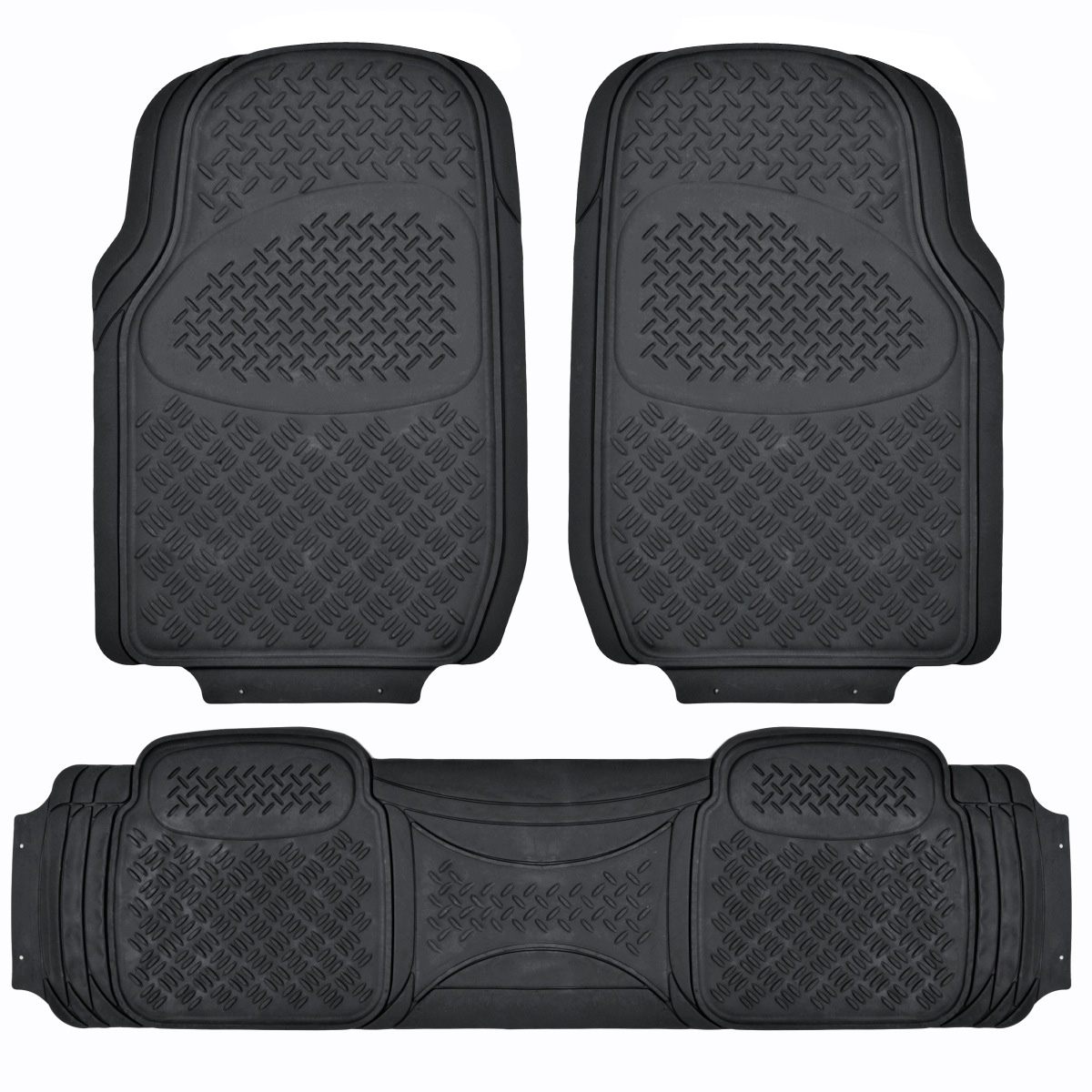Best Suv Floor Mat For 3 Row Car All Weather Black Trimmable This Month