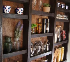Best Built In Kitchen Wall Shelves Hometalk This Month