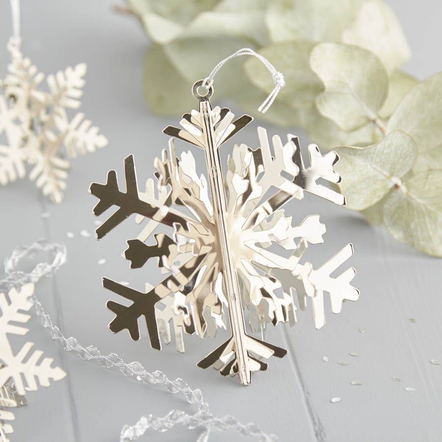 Best Large Silver Snowflake Decoration By The Christmas Home This Month