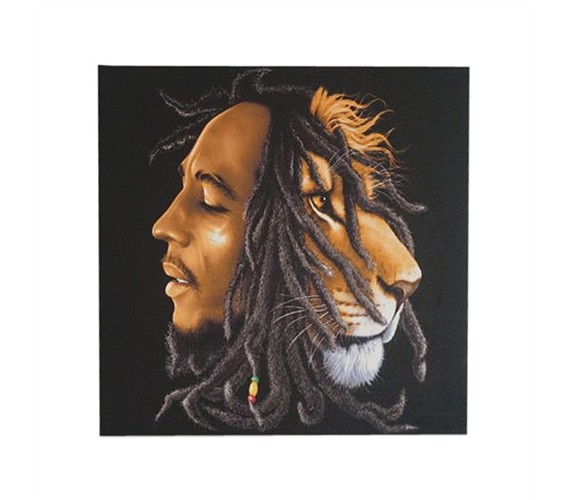 Best Bob Marley Lion Wall Canvas This Month