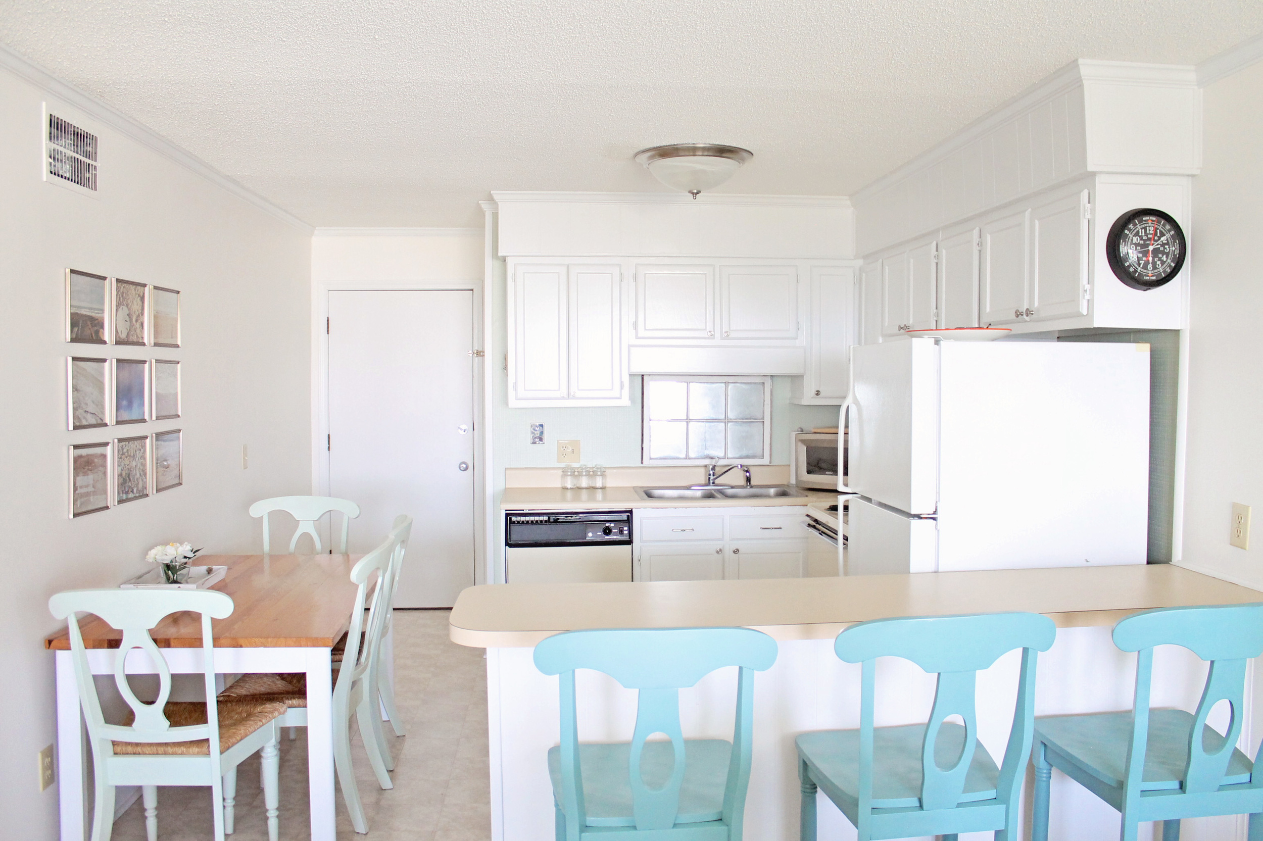 Best Kitchen Before And After Sea Spray Condo — Elizabeth This Month