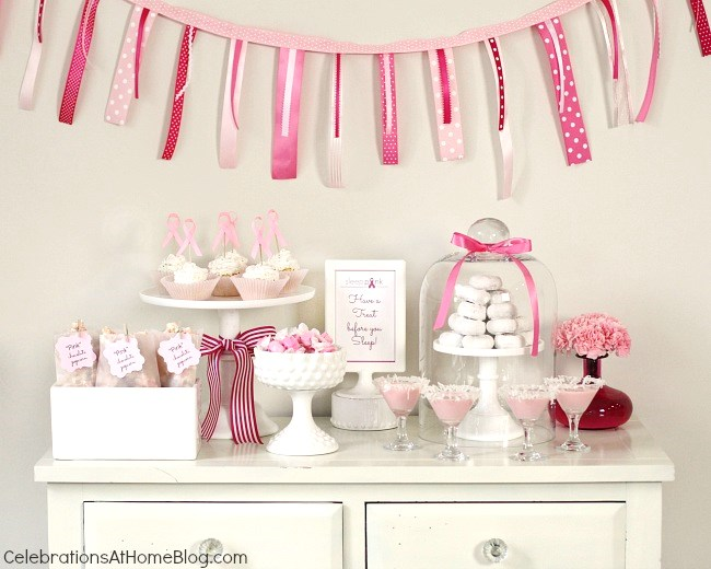 Best Host A Pink Party For Br**St Cancer Awareness This Month
