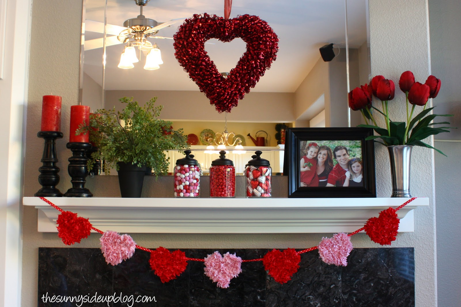 Best Winter And Valentines Mantel The Sunny Side Up Blog This Month
