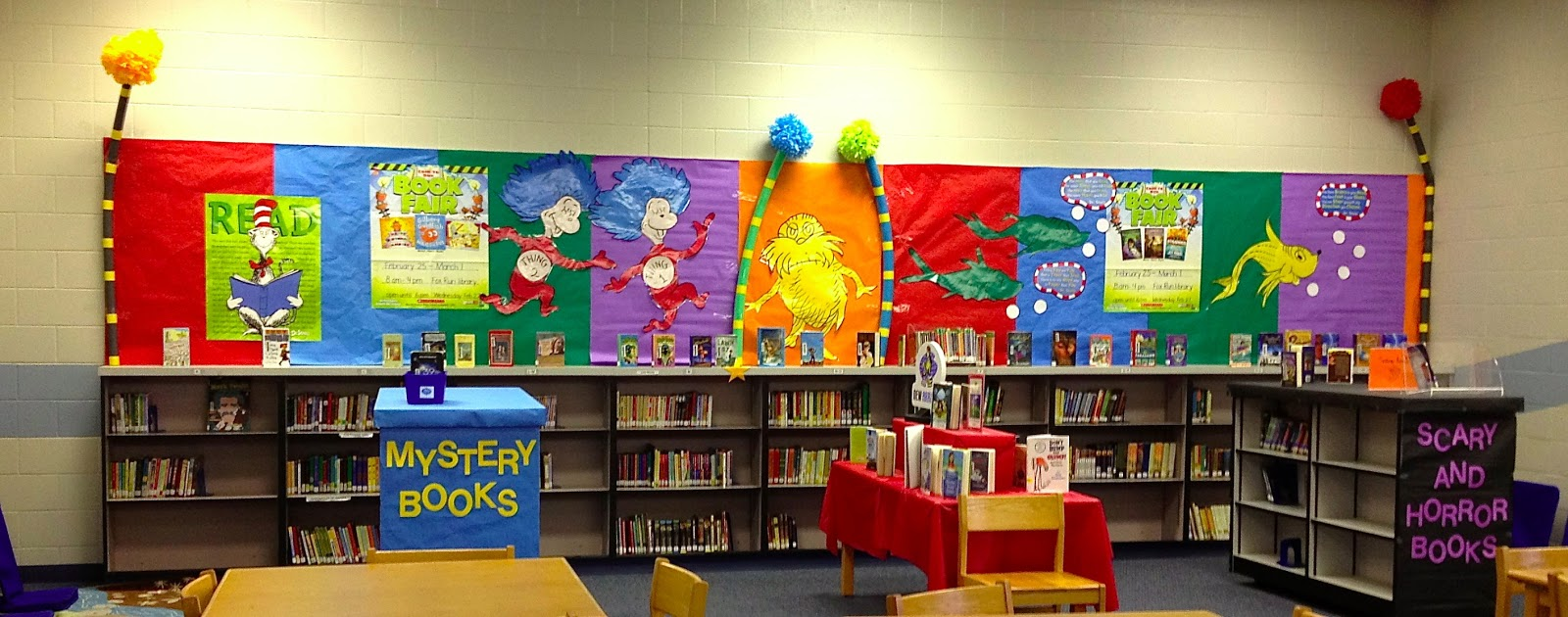 Best Scholastic Book Fair Gets Seuss Y Library Learners This Month