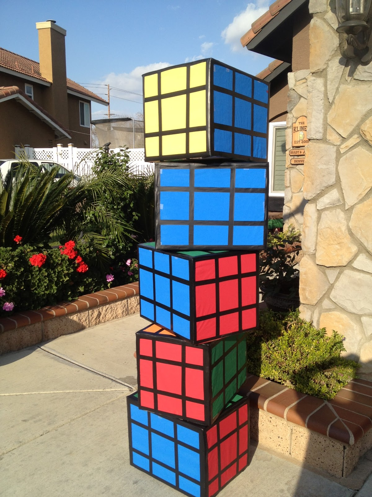 Best Three Crafty Cousins Diy Rubix Cubes 80 S Theme This Month